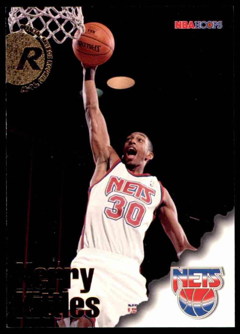 1996 97 NBA Hoops Kerry Kittles RC 297 on Kronozio