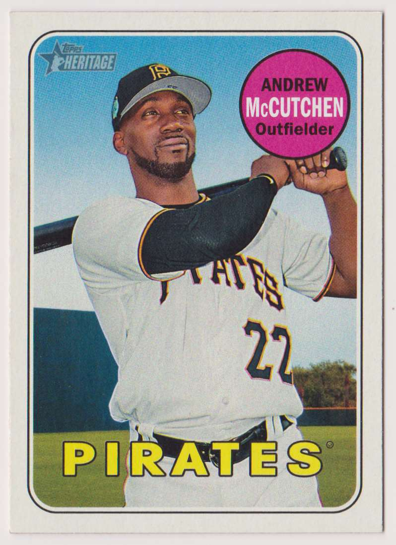 2018 Topps Heritage Andrew McCutchen #50 card front image