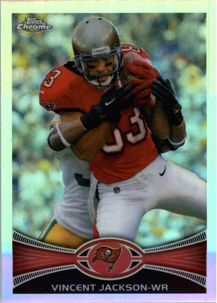 2012 Topps Chrome Vincent Jackson #199 card front image