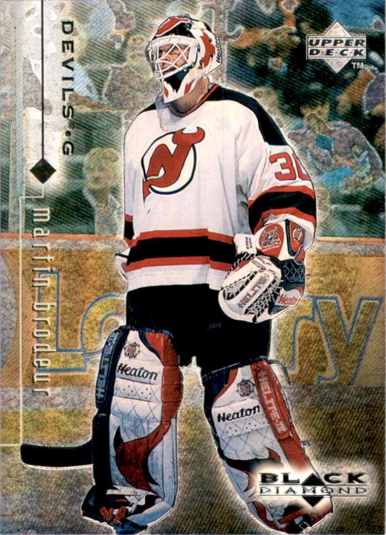 1998-99 Black Diamond Martin Brodeur #50 card front image
