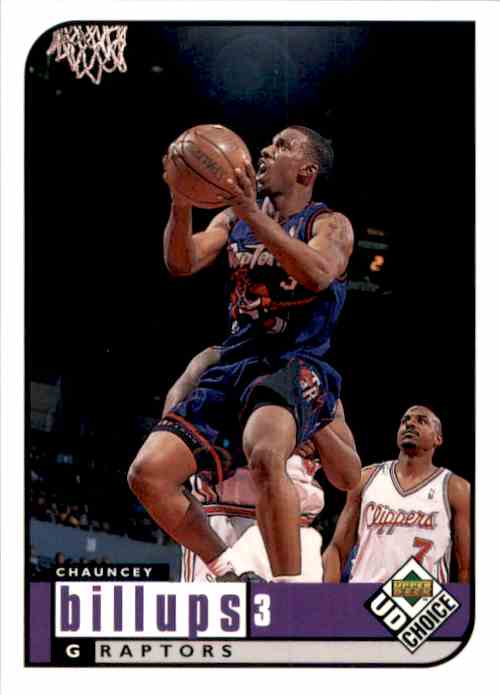 1998-99 UD Choice Chauncey Billups #137 card front image