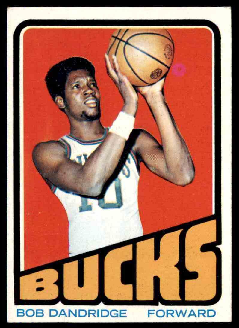 1972-73 Topps Bob Dandridge #42 card front image