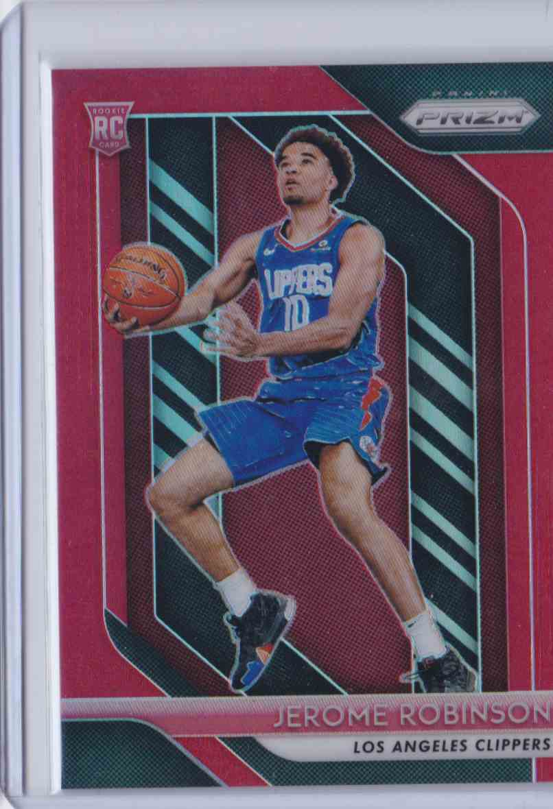 2018-19 Prizm Red Jerome Robinson #194 card front image