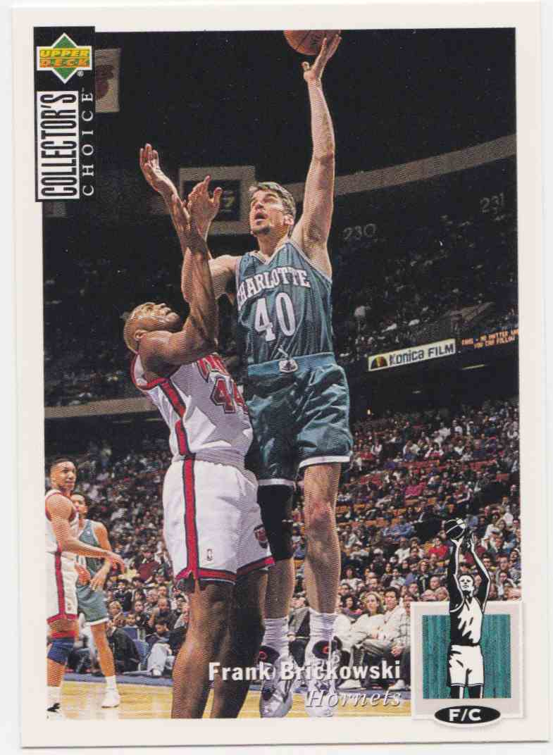 1994-95 Upper Deck Collector's Choice Base Frank Brickowski #70 card front image