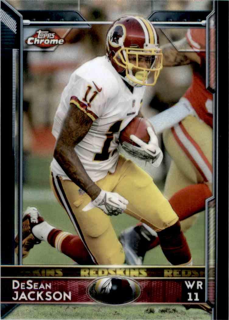 2015 Topps Chrome DeSean Jackson #52 card front image