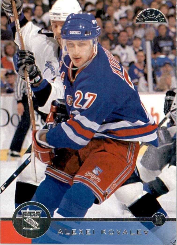 1996-97 Leaf Alexei Kovalev #135 card front image