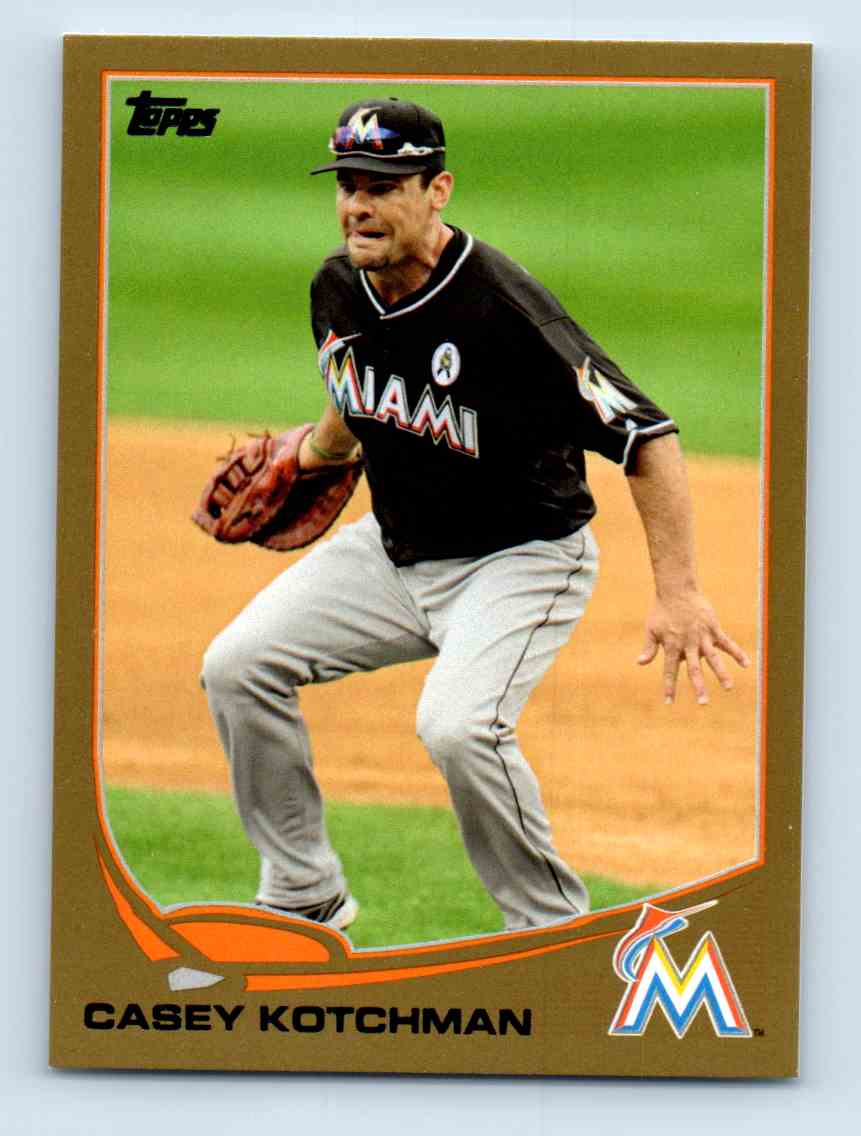 2013 Topps Update Gold Casey Kotchman #USB1 card front image