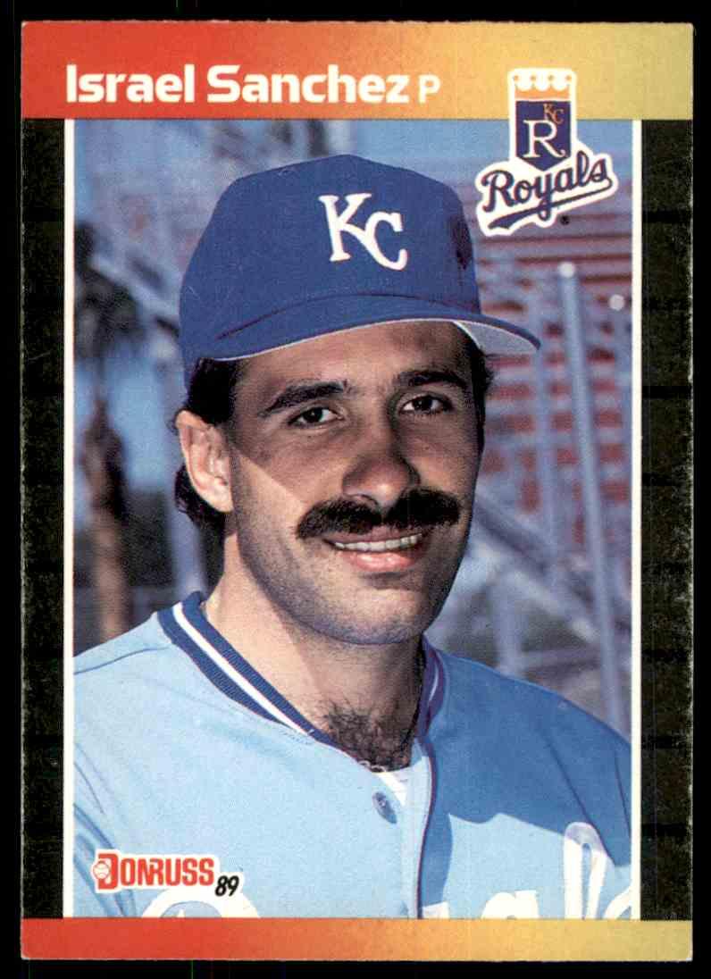 1989 Donruss Israel Sanchez #474 card front image