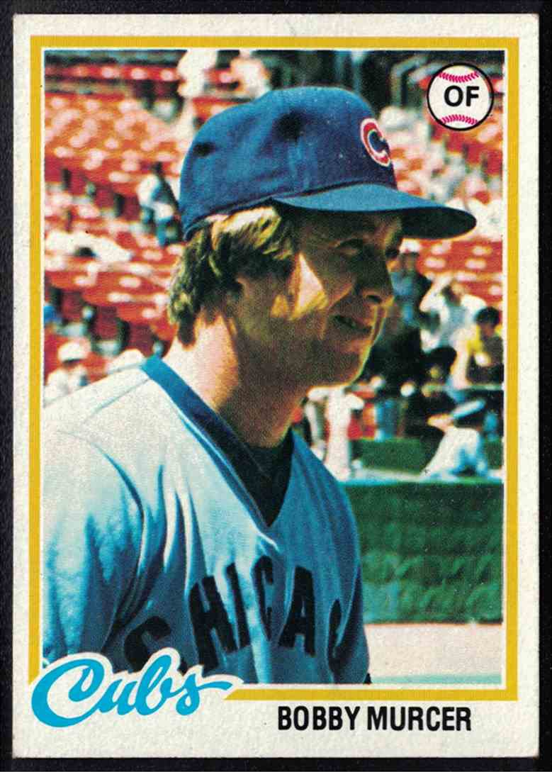 1978 Topps Bobby Murcer NM #590 card front image