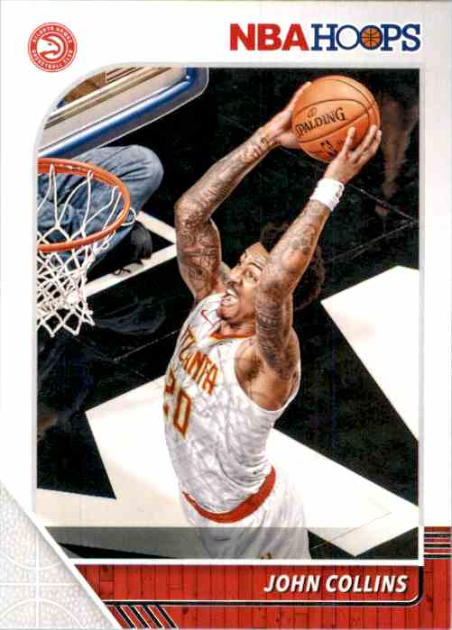 2019-20 Hoops John Collins #2 card front image