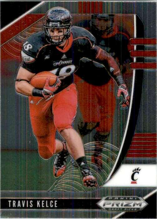 2020 Panini Prizm Draft Picks Travis Kelce #99 card front image