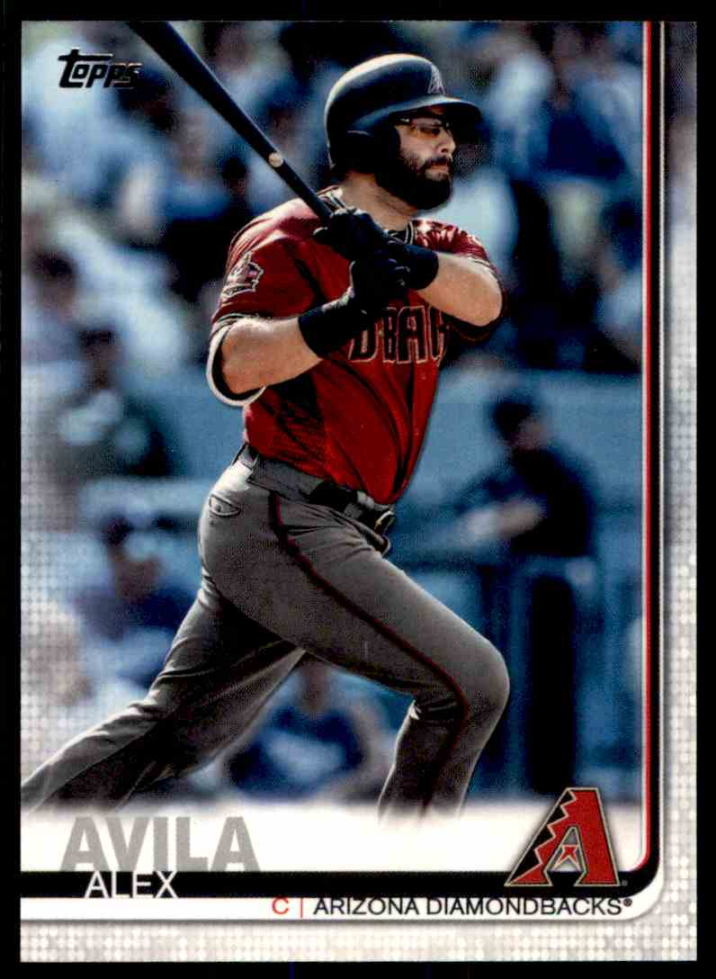 2019 Topps Series 2 Alex Avila #458 card front image