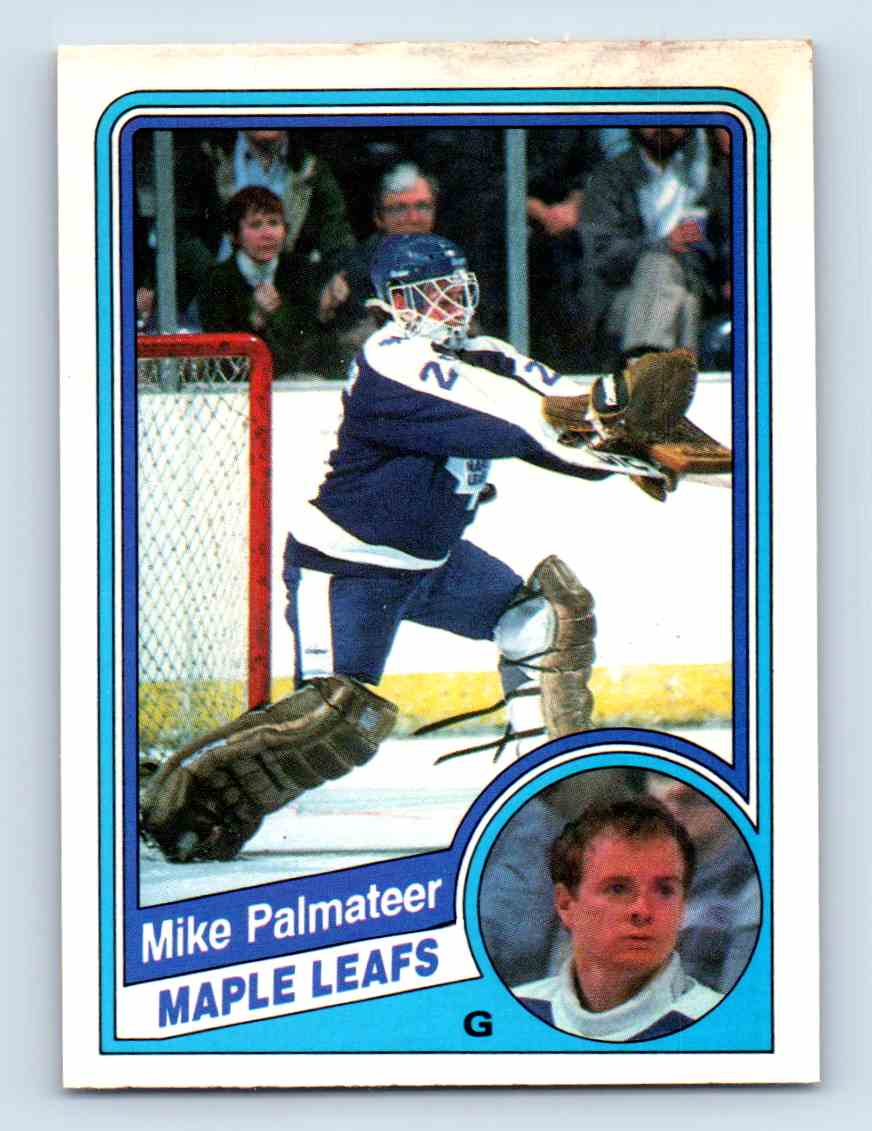 1984-85 O-Pee-Chee Mike Palmateer #308 card front image