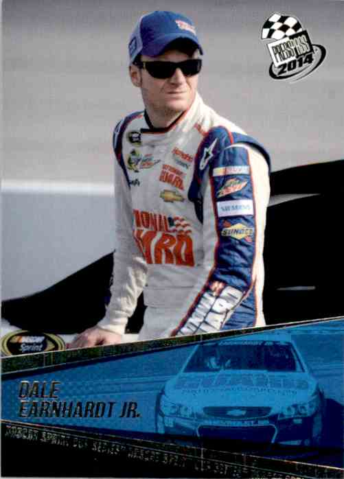 2014 Press Pass Dale Earnhardt #8 card front image