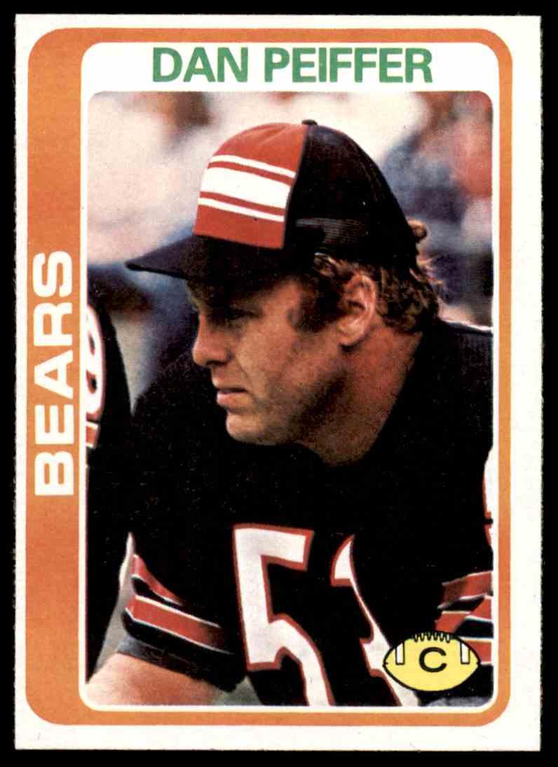 1978 Topps Football Dan Peiffer #318 card front image