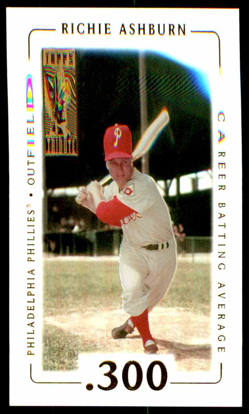 2002 Topps Tribute Richie Ashburn #21 card front image