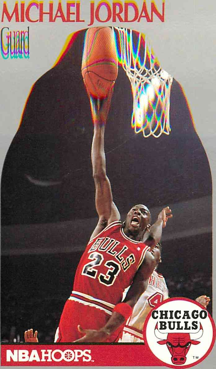 1990 91 Nba Hoops Michael Jeffrey Jordan 65