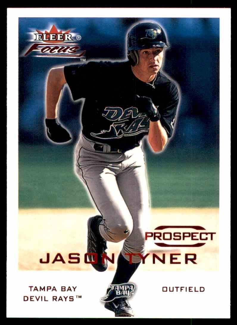 2001 Fleer Focus Jason Tyner #214 card front image