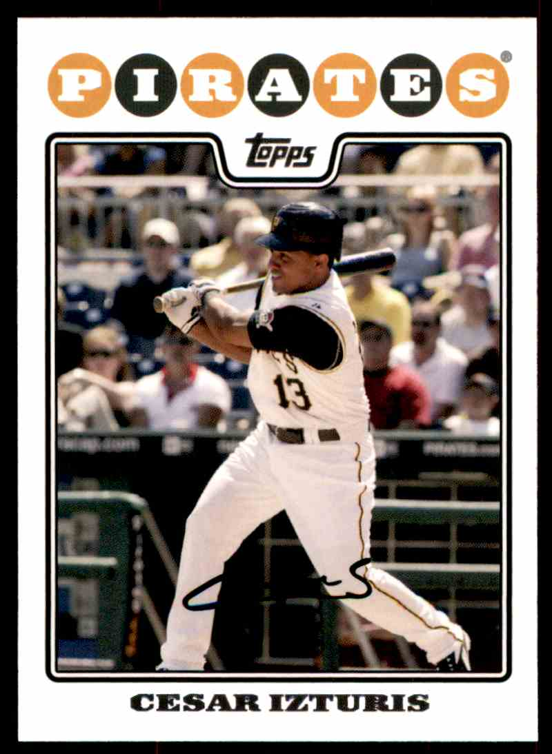 2008 Topps Cesar Izturis #299 card front image