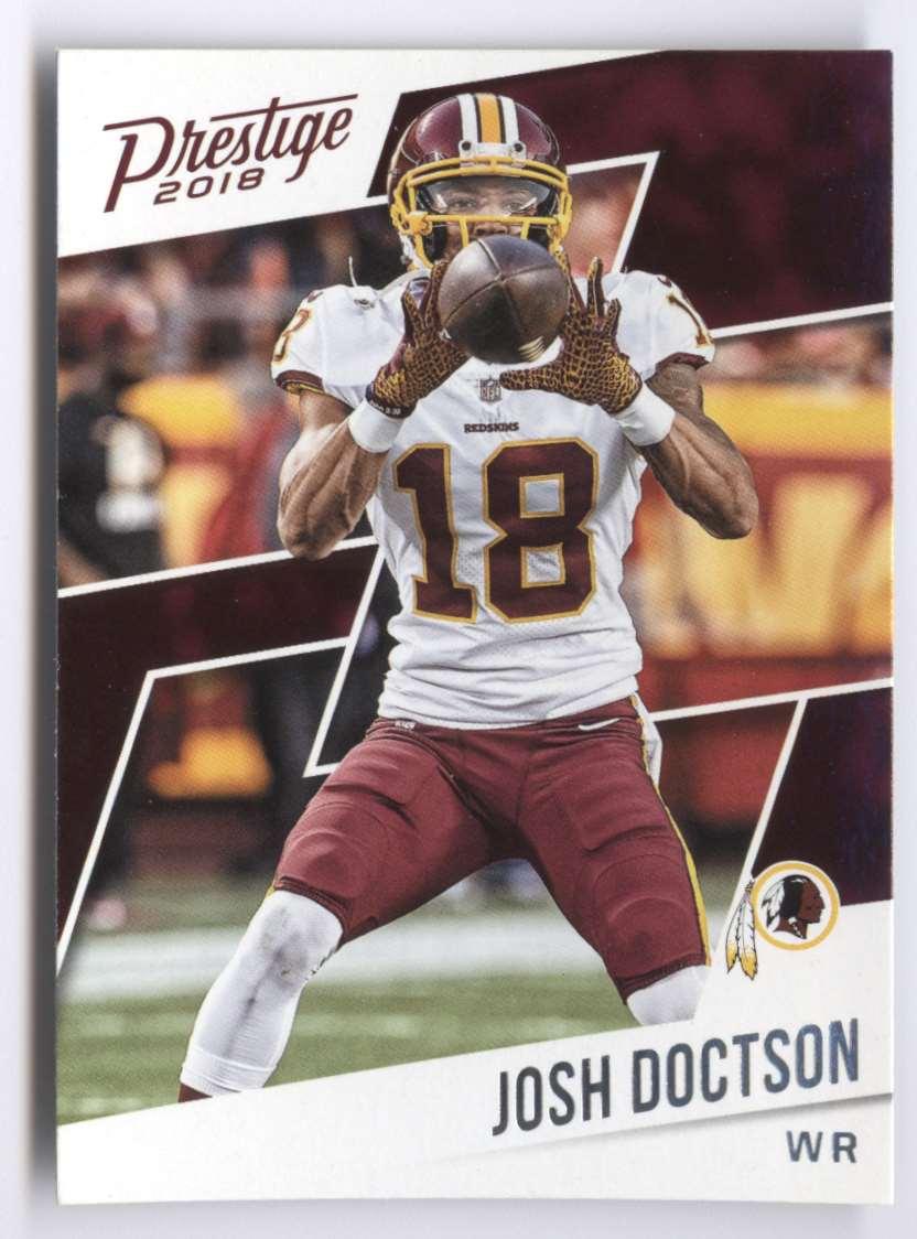 2018 Panini Prestige Josh Doctson #92 card front image