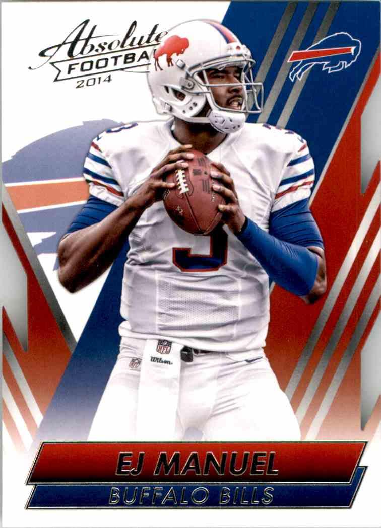2014 Absolute Retail Ej Manuel #81 card front image