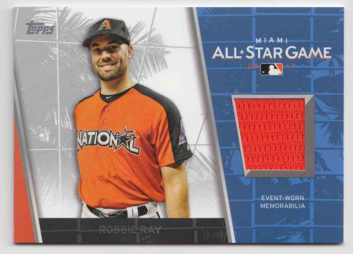 2017 Topps Update All-Star Stitches Relics Robbie Ray #ASR-RR card front image