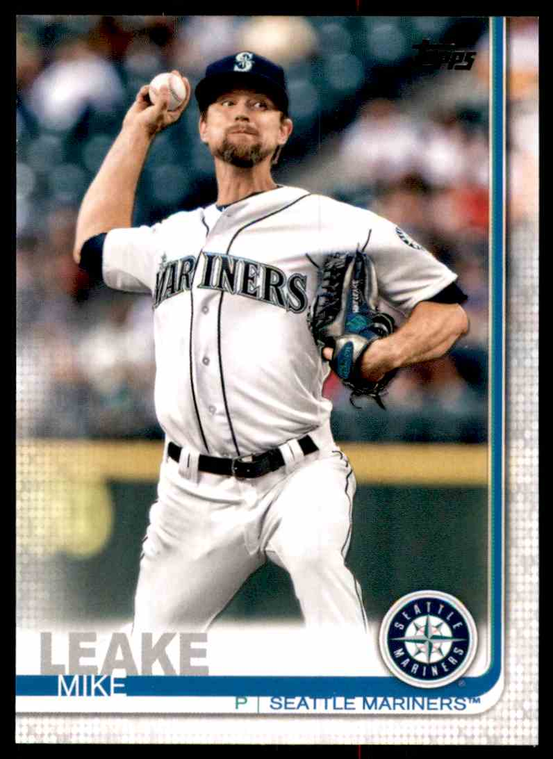 2019 Topps Mike Leake #27 card front image