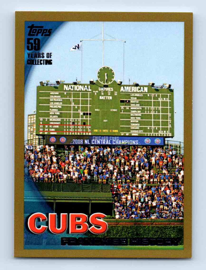 2010 Topps Gold Border Chicago Cubs #511 card front image