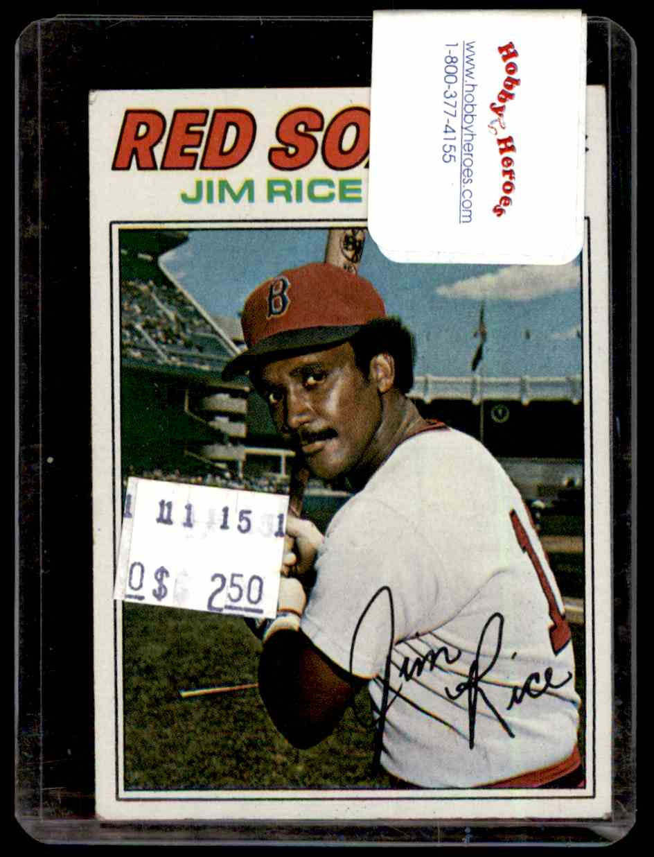 1977 Topps Jim Rice #60 card front image
