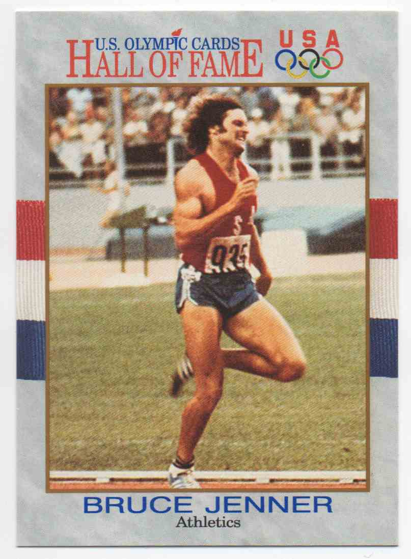 1991 Impel U.S. Olympic Hall Of Fame Bruce Jenner #33 card front image