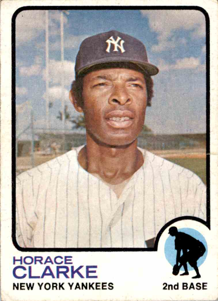 1973 Topps Horace Clarke #198 card front image