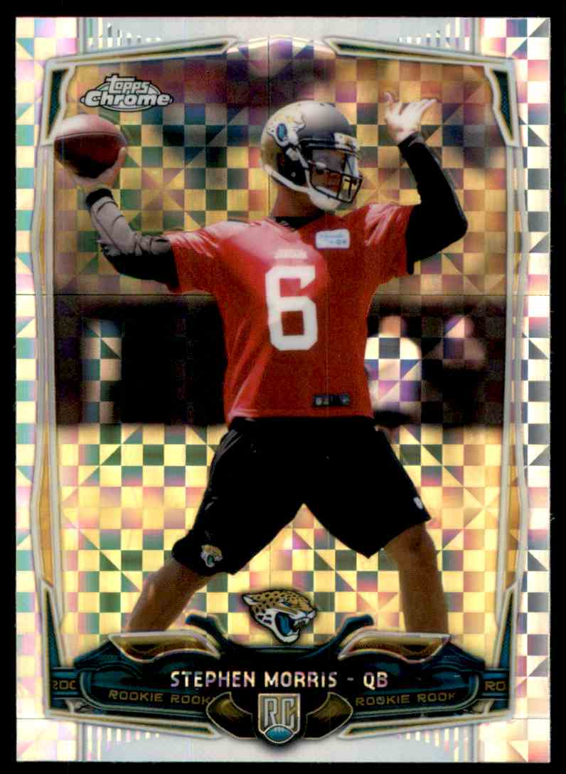 2014 Topps Chrome Xfractors Stephen Morris #167 card front image