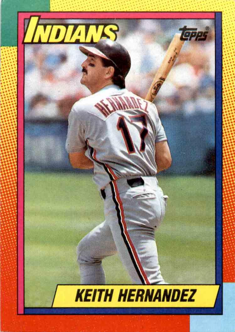 1990 Topps Traded Keith Hernandez 39t On Kronozio