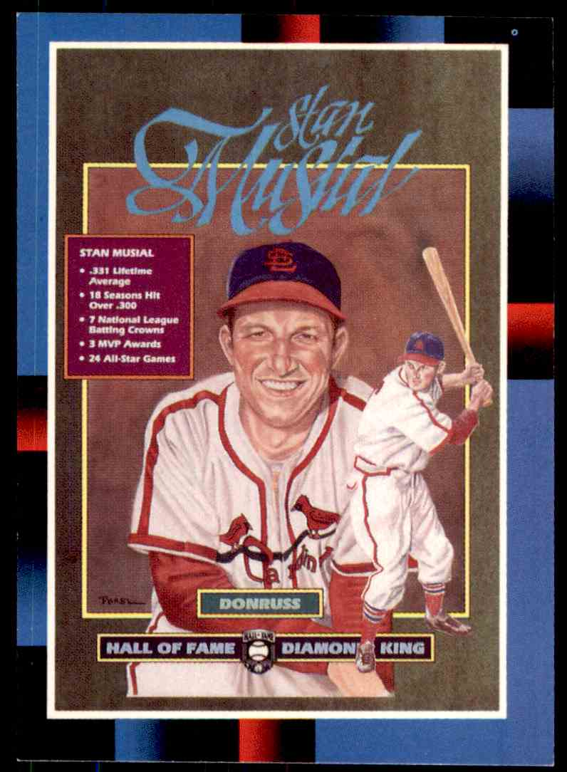 1988 Donruss Baseball Stan Musial Puzzle 641 On Kronozio