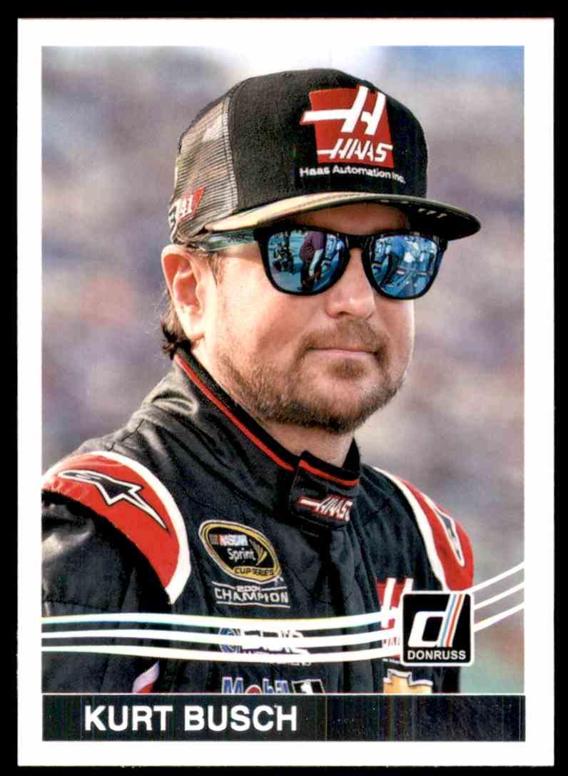 2017 Donruss Kurt Busch #175 card front image