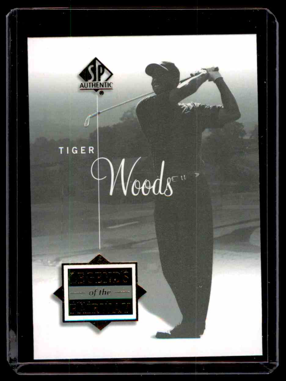 2002 SP Authentic Tiger Woods #46 card front image
