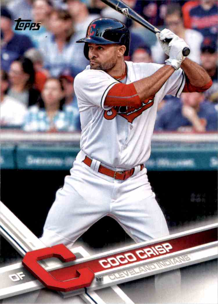2017 Topps Coco Crisp #281 card front image