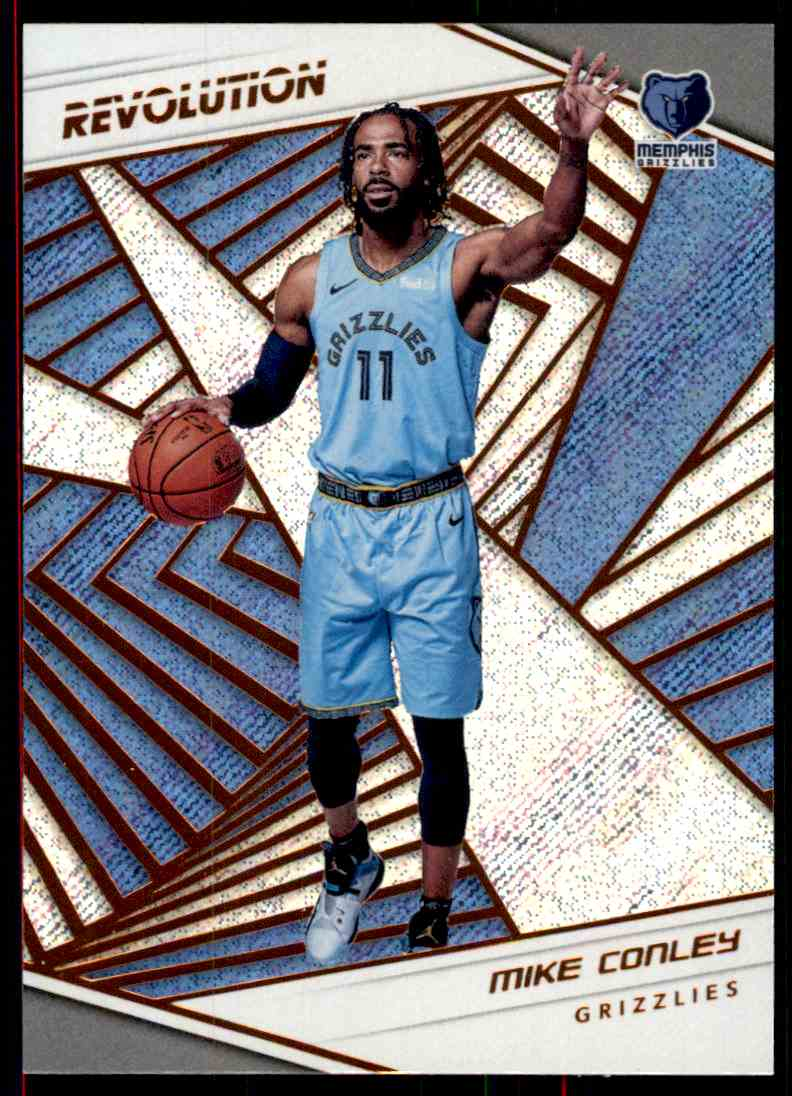2018-19 Panini Revolution Base Mike Conley #80 card front image