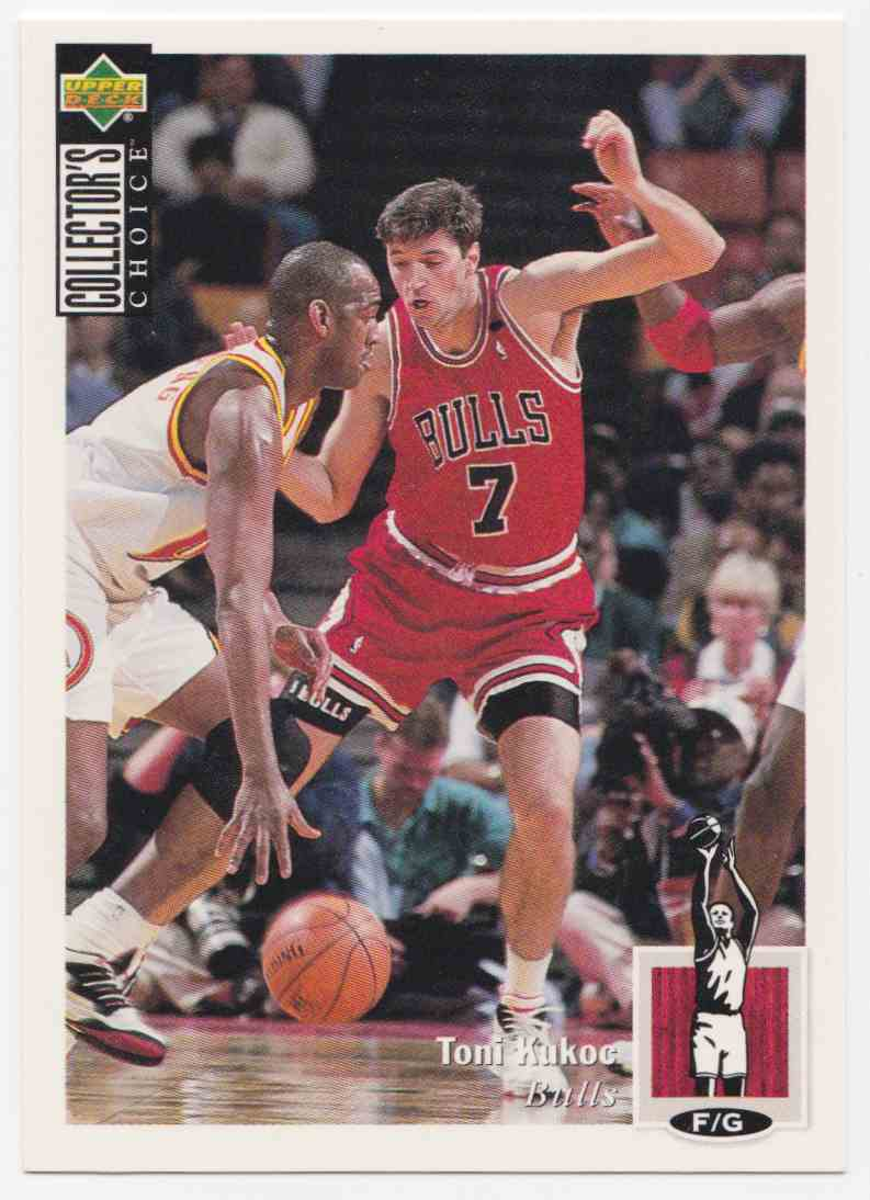 1994-95 Upper Deck Collector's Choice Base Toni Kukoc #107 card front image