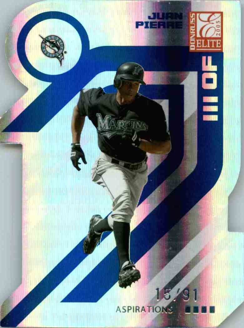 2005 Donruss Elite Aspirations Juan Pierre #65 card front image