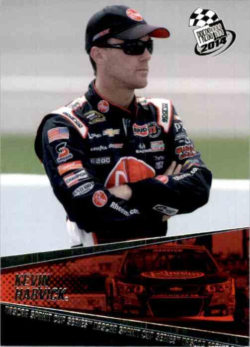 2014 Press Pass Kevin Harvick #15 card front image