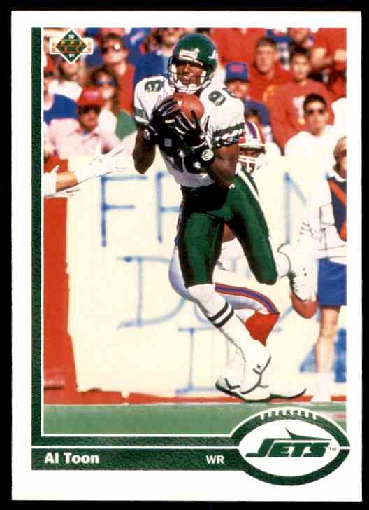 1991 Upper Deck Al Toon #233 card front image