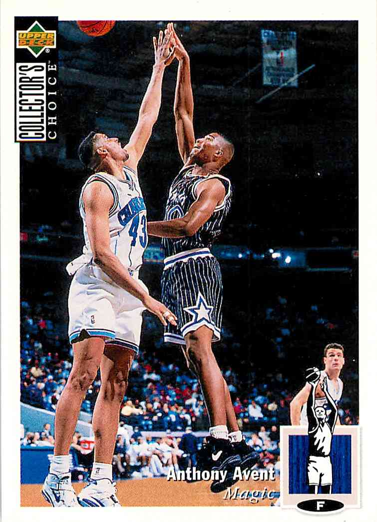 1994-95 Collector's Choice Anthony Avent #358 card front image