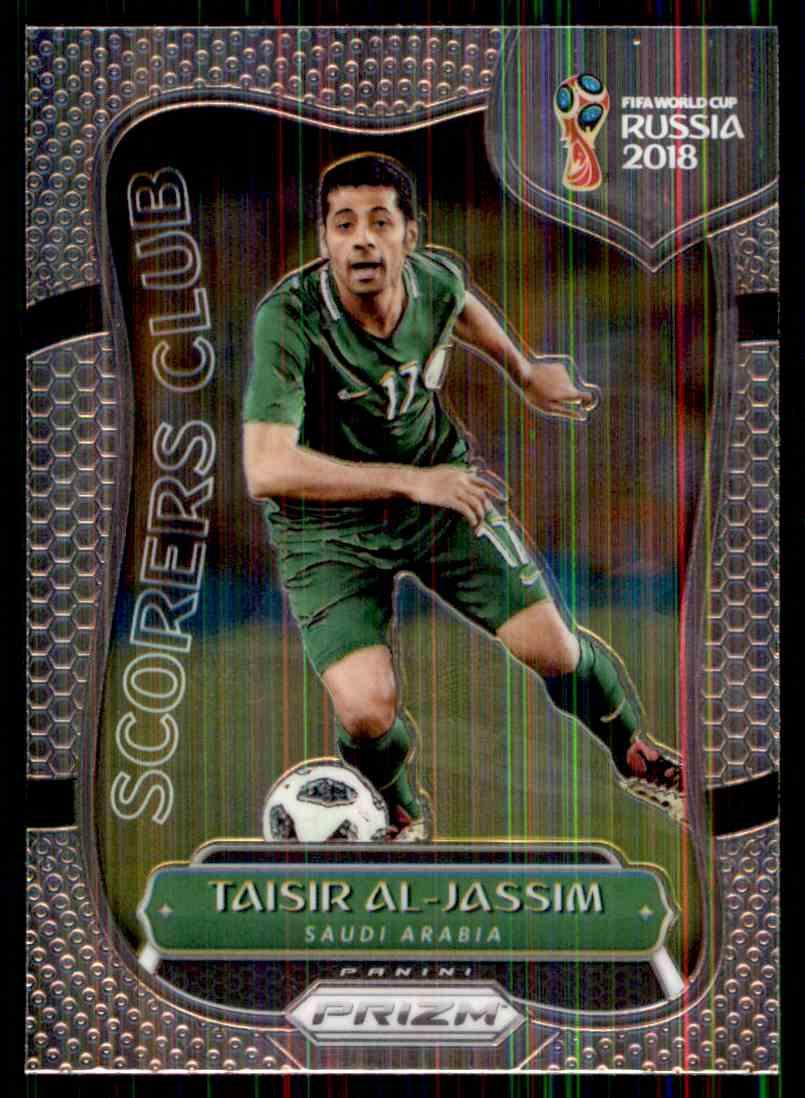 2018 Panini Prizm World Cup Scorers Club Taisir Al-Jassim #SC-18 card front image