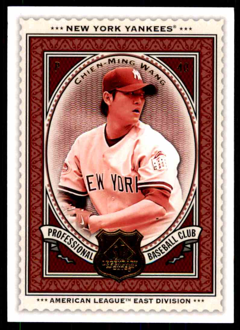2009 SP Legendary Cuts Chien-Ming Wang #65 card front image