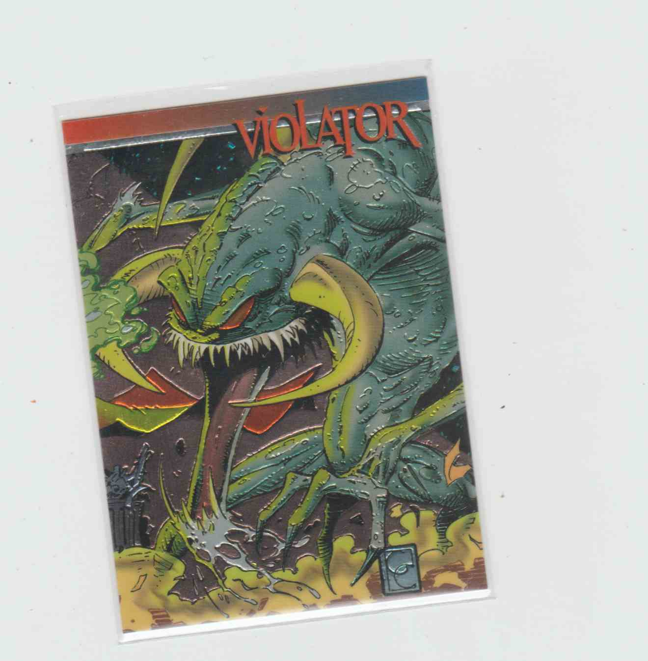1993 Wizard Series III Todd McFarlane Violator #1 card front image