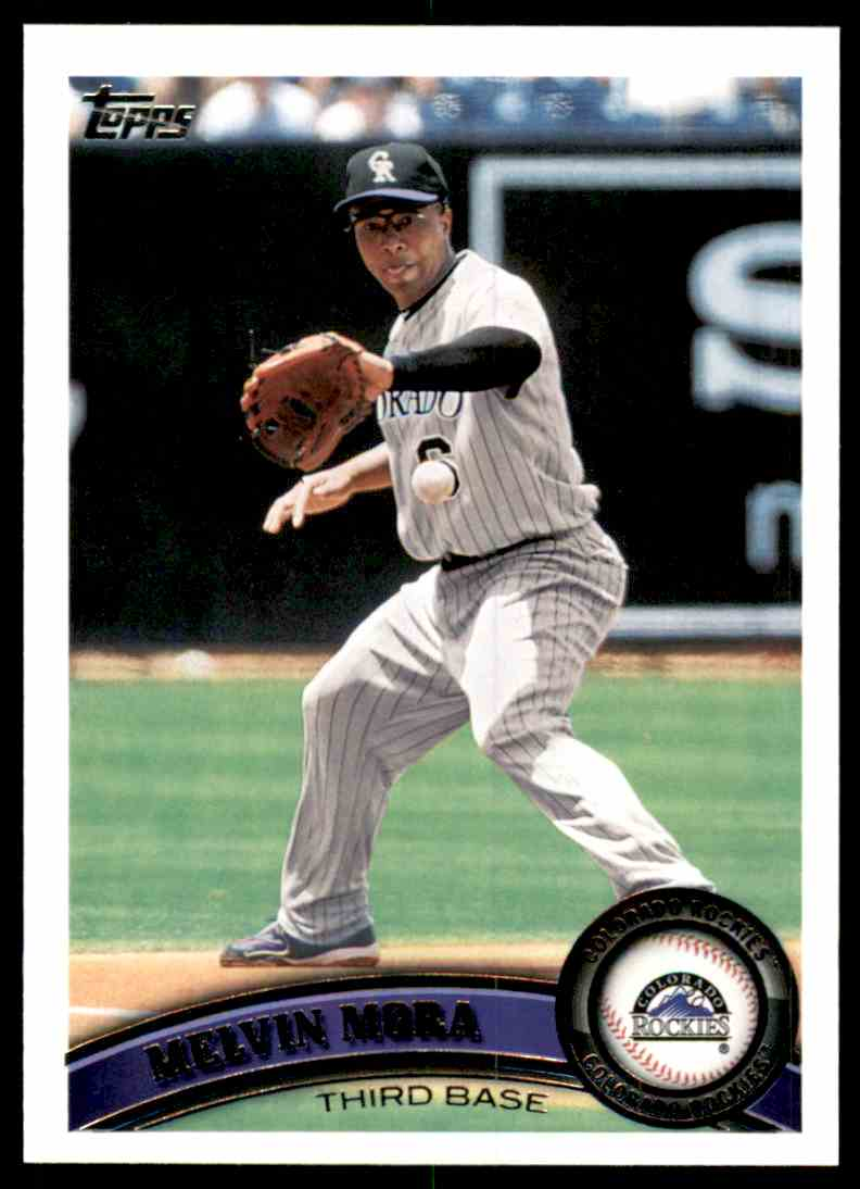 2011 Topps Melvin Mora #286 card front image