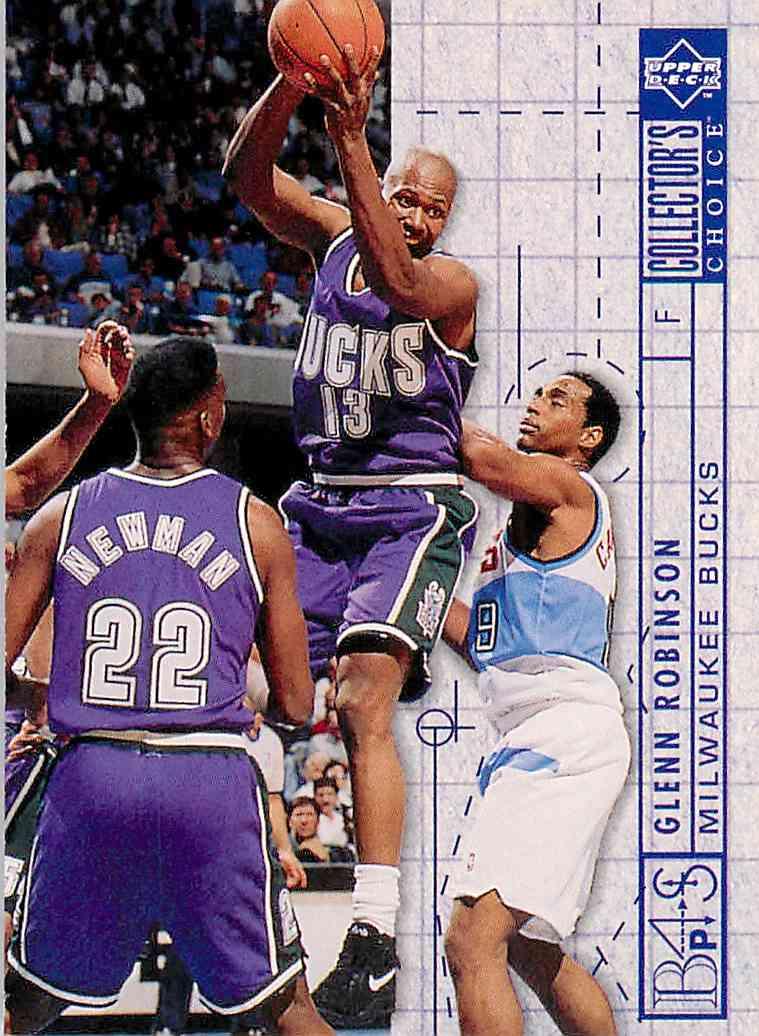 1994-95 Collector's Choice Bp Glenn Robinson #386 card front image