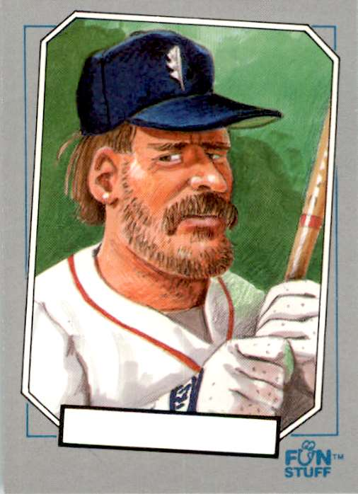 1992 Confex Baseball Enquirer Wade Boggs #45 card front image