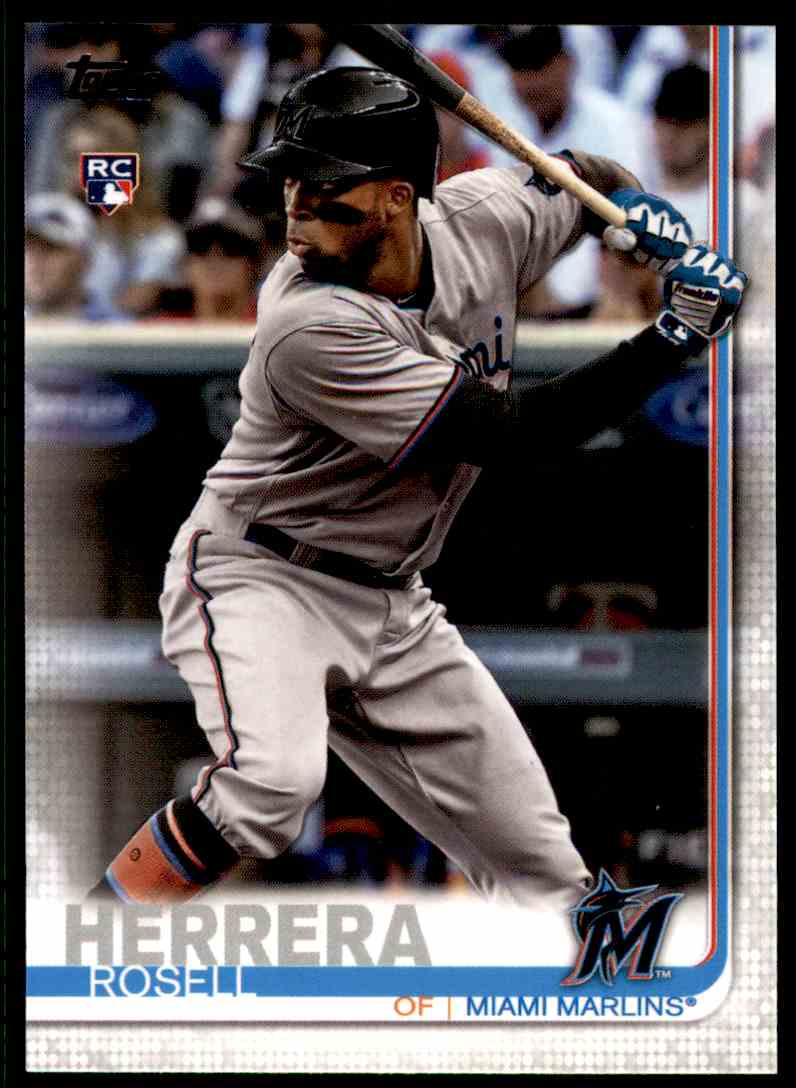 2019 Topps Series 2 Rosell Herrera #652 card front image